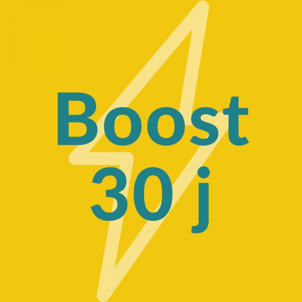 Boost 30 j