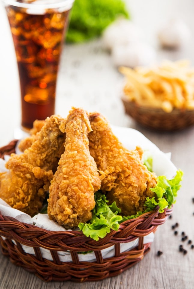 Snacking poulet et frite